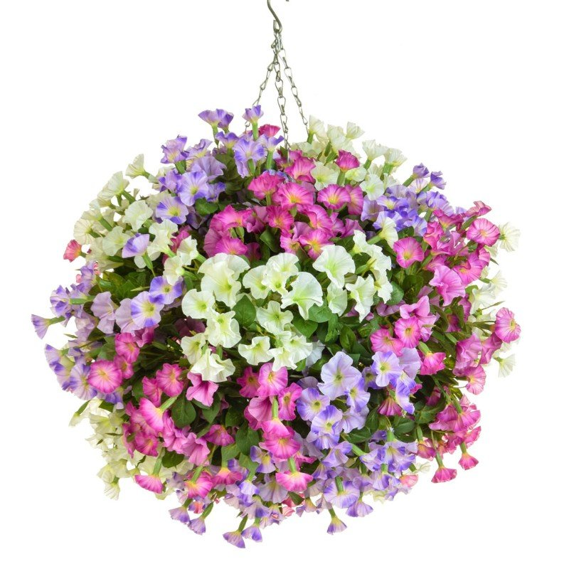 Artificial Petunia Ball 50cm/