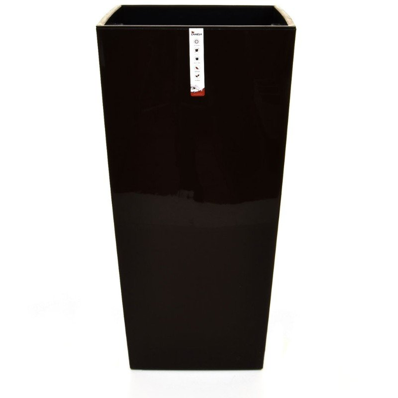 V-Pot Urbi Square Plant Pot Black 61x32x32cm/