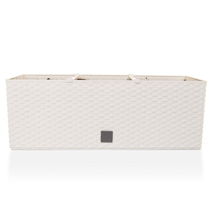 V-Pot Rato Trough Planter White 19x51x18cm/