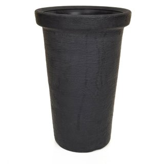 V-Pot Classic Tower Pot Black 50x30x30cm