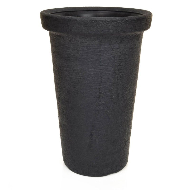 V-Pot Classic Tower Pot Black 50x30x30cm/