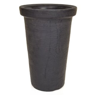 V-Pot Classic Tower Pot Black 63x40x40cm