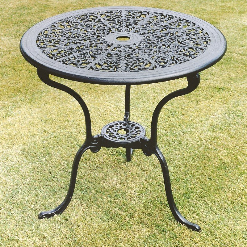 Coalbrookdale 68cm Table - Black/