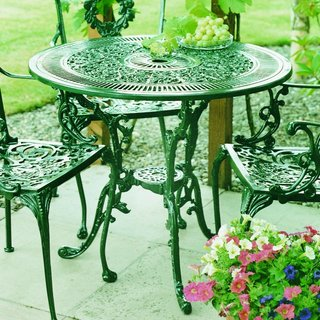 Coalbrookdale 81cm Table - Green