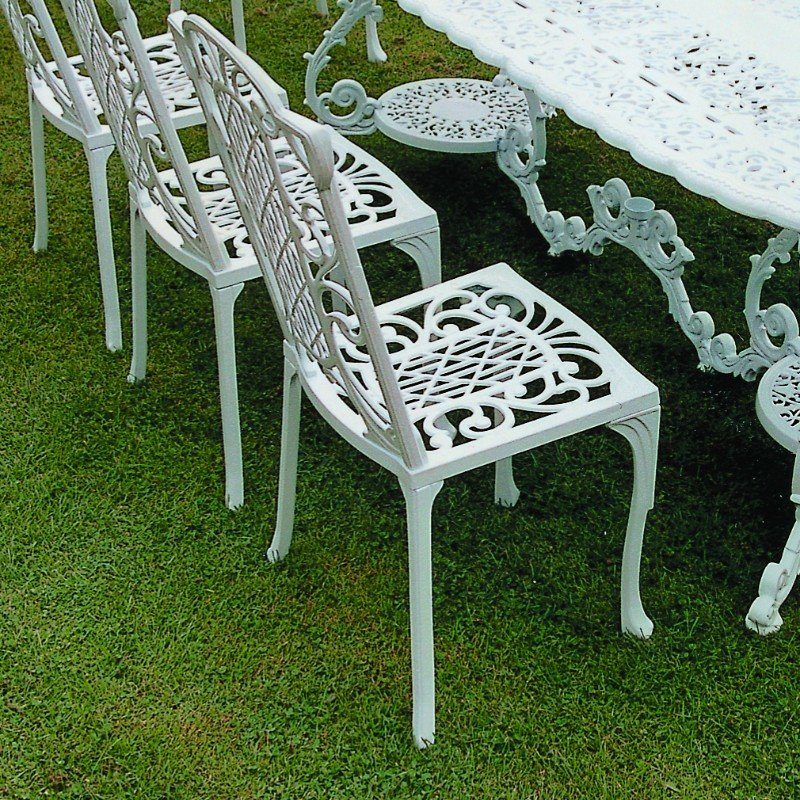 Victorian Diner Chair - White/