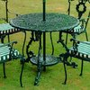 Victorian Round Table - Green/
