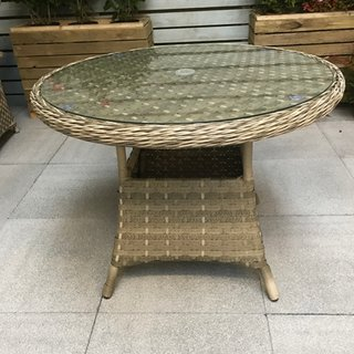 Florence Round Table 100cm - Caramel