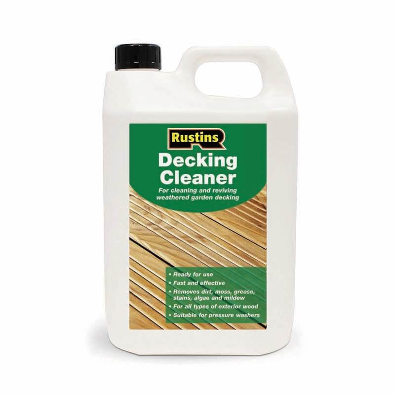 Rustins Decking Cleaner 4L/
