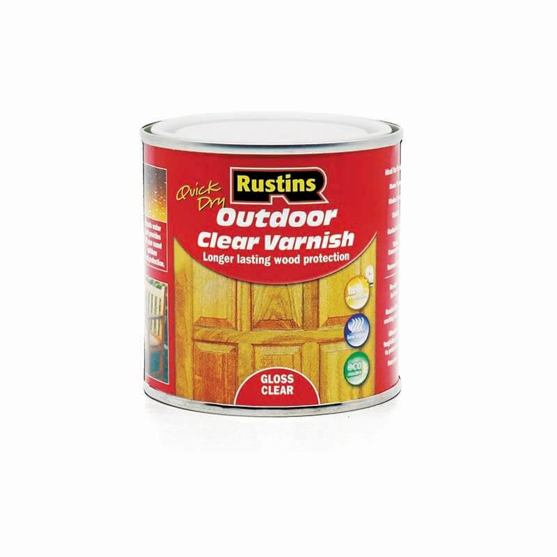 Rustins Quick Dry Outdoor Clear Varnish/