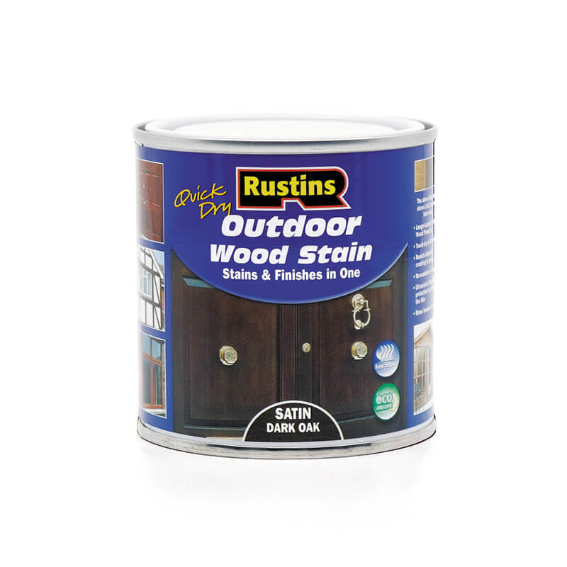 Rustins Quick Dry Outdoor Wood Stain/