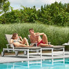 Anabel Sun Lounger - White/