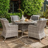 Wroxham 4-Seat Dining Set/