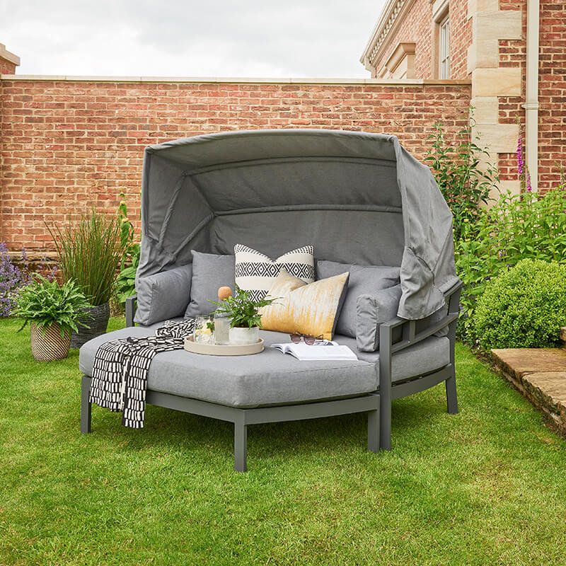 Titchwell Day Bed - Grey/