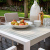 Titchwell 6-Seat Dining Set - White/